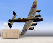 Avro Lancaster wallpaper mural living room preview