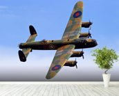 Avro Lancaster wallpaper mural in-room view