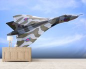 Avro Vulcan Bomber mural wallpaper living room preview