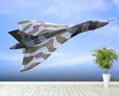 Avro Vulcan Bomber mural wallpaper in-room view