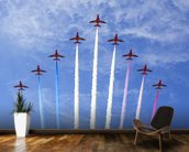 RAF Red Arrows wallpaper mural kitchen preview