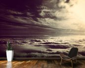 Flying Above The Clouds wallpaper mural kitchen preview