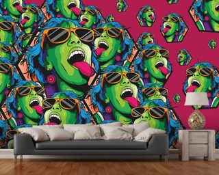 Graffiti Wallpaper Wall Murals Wallsauce UK