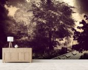 Sleepy Hollow wallpaper mural living room preview