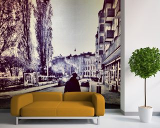 Tall are the Trees of Stockholm Mural Wallpaper Wallpaper Wall Murals