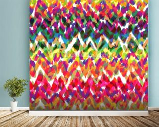 Blobs of Colour wallpaper mural
