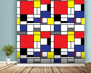 Mondrian Wall Mural Wallpaper Wall Murals