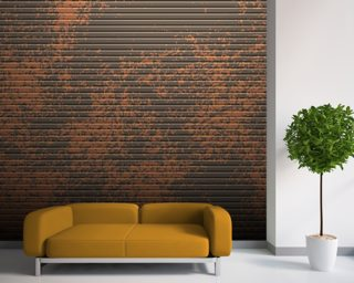 Mottled wall mural