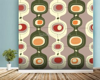 Circles Sequence wall mural