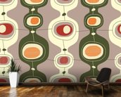 Circles Sequence wall mural kitchen preview