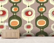Circles Sequence wall mural living room preview
