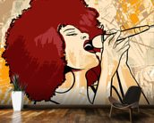 Jazz Singer wall mural kitchen preview