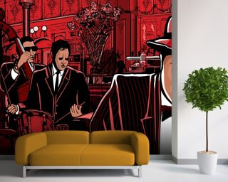 Jazz Piano wallpaper mural