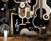 Instruments Abstract wall mural kitchen preview