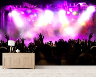 Music Concert Wall Mural Wallpaper Wall Murals