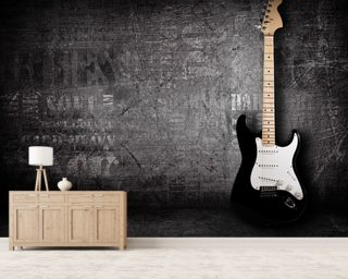Electric Guitar Wallpaper Wall Murals
