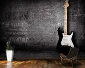 Electric Guitar mural wallpaper kitchen preview