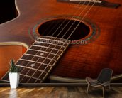 Acoustic Guitar wall mural kitchen preview
