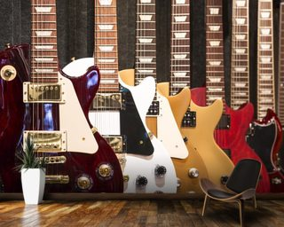 Electric Guitars Wallpaper Wall Murals