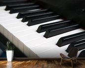Piano Keyboard wallpaper mural kitchen preview