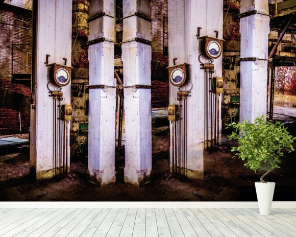 Fabbrica Naturale 2053-3 wallpaper mural room setting