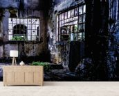 Fabbrica Naturale 2201-2 mural wallpaper living room preview