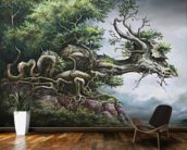 Dragon Tree wallpaper mural kitchen preview