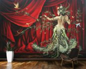 The Dancer wall mural kitchen preview