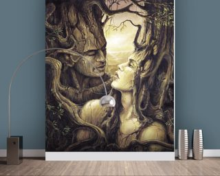 The Couple Mural Wallpaper Wallpaper Wall Murals