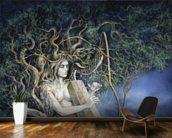 Samhain wallpaper mural kitchen preview