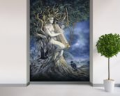 Samhain wallpaper mural in-room view