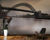 Tyne Bridge mural wallpaper kitchen preview