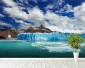 Perito Moreno Glacier, Argentino Lake, Patagonia, Argentina wallpaper mural in-room view