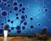 Neural network wall mural kitchen preview