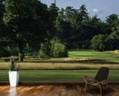 Sherfield Sunset, Sherfield Oaks Golf Club, Hampshire, England wall mural kitchen preview