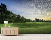 Wortley Sunset, Wortley Golf Club, South Yorkshire, England wallpaper mural living room preview