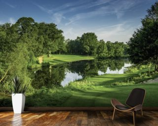 Dawn Par Three, Cottesmore Hotel Golf & Country Club, West Sussex, England Wall Mural Wallpaper Wall Murals Wallpaper