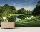 Dawn Par Three, Cottesmore Hotel Golf & Country Club, West Sussex, England wall mural living room preview