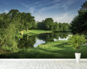 Dawn Par Three, Cottesmore Hotel Golf & Country Club, West Sussex, England wall mural in-room view