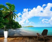 Virgin Islands Beach wall mural kitchen preview