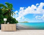 Virgin Islands Beach wall mural living room preview