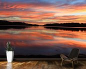 Sunrise Reflections Narrabeen Lakes wall mural kitchen preview