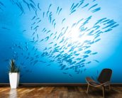 Jack Fish wallpaper mural kitchen preview