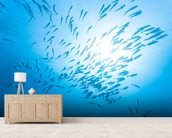 Jack Fish wallpaper mural living room preview