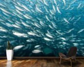 A School of Fish wall mural kitchen preview