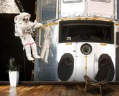 Hanging Out With Hubble (2009) wall mural kitchen preview