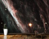 The Pencil Nebula: Remnants of an Exploded Star (NGC 2736) wallpaper mural kitchen preview