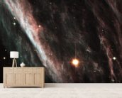 The Pencil Nebula: Remnants of an Exploded Star (NGC 2736) wallpaper mural living room preview
