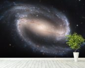 Barred Spiral Galaxy NGC 1300 wallpaper mural in-room view