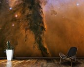 The Eagle Has Risen: Stellar Spire in the Eagle Nebula wallpaper mural kitchen preview